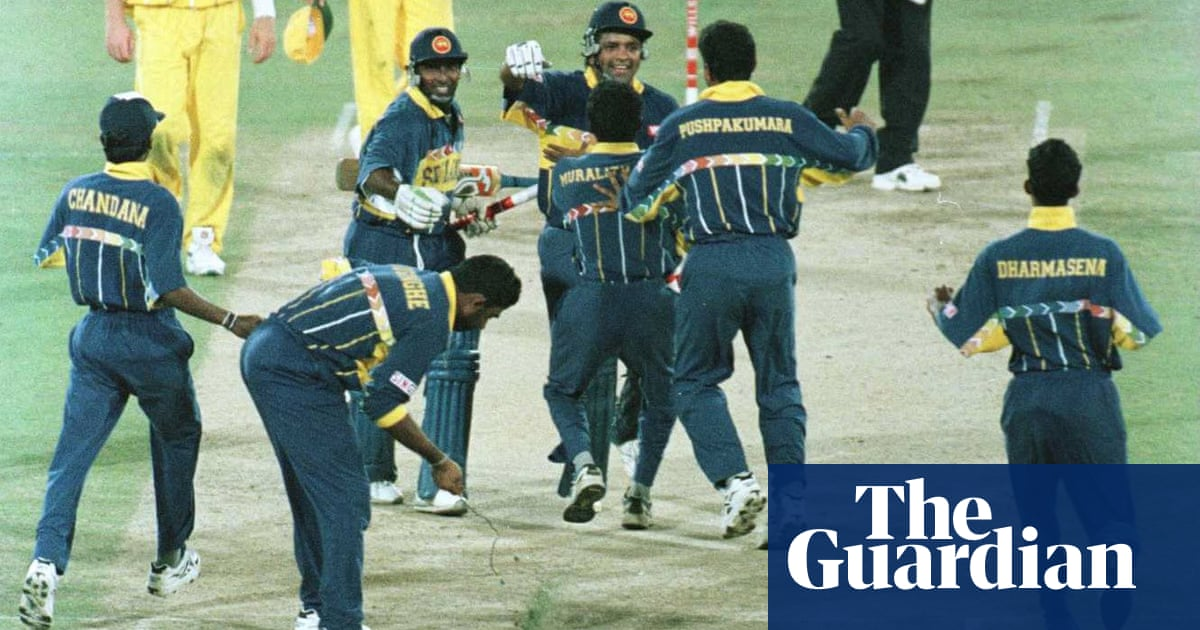 49160a97b80 How Sri Lanka s magical 1996 cocktail paved the way for Morgan s men ...
