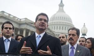 Pedro Pierluisi in Washington DC on 13 January 2013.