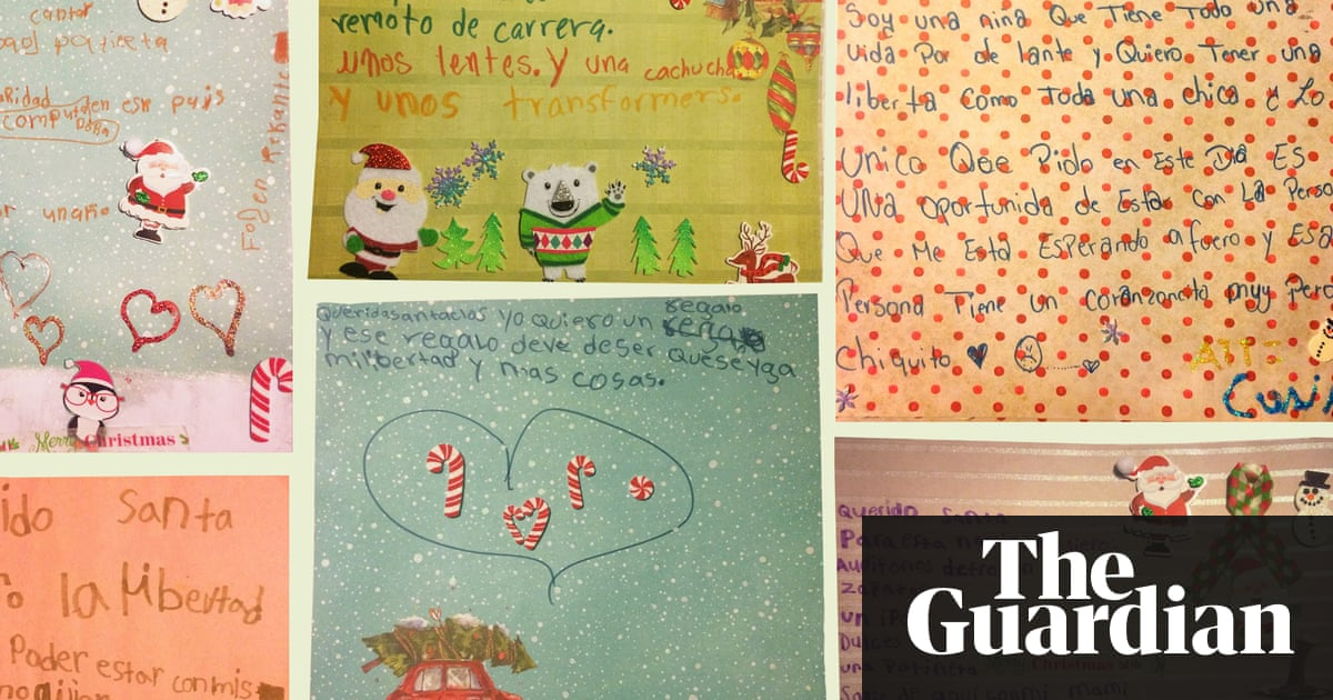 At immigration detention center every child has same christmas wish at immigration detention center every child has same christmas wish freedom us news the guardian spiritdancerdesigns Gallery