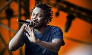 Alright on the night: Kendrick Lamar