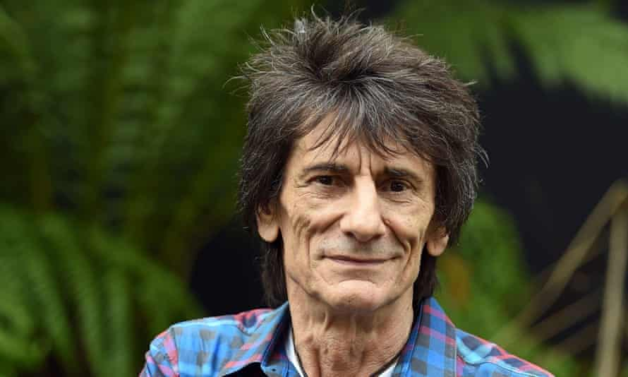 'It could have been curtains'... Ronnie Wood.