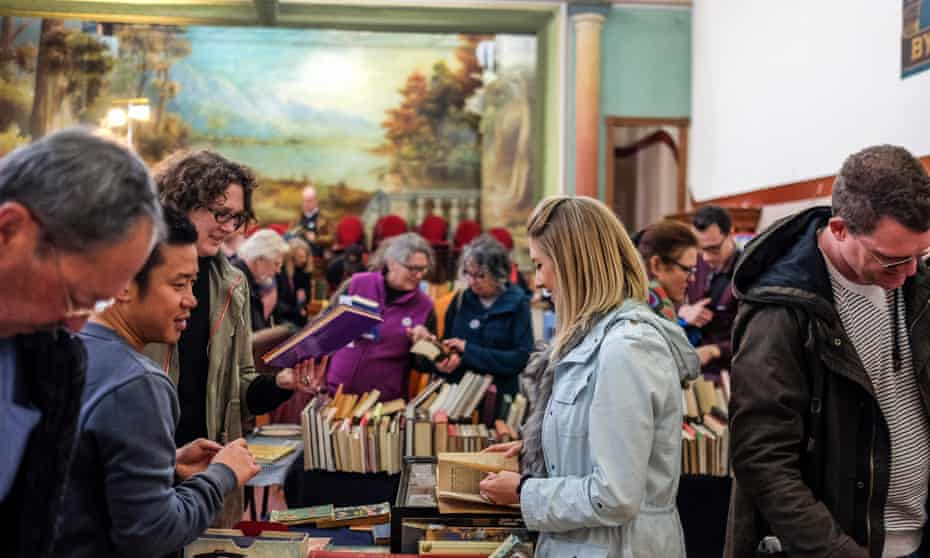 A publicity shot for Clunes Booktown festival