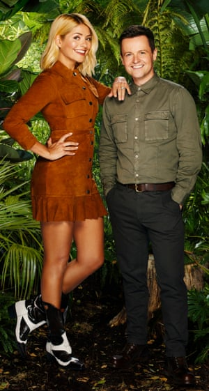 Declan Donnelly in 2018 with Holly Willoughby, who was replacing Anthony McPartlin as co-host on I'm A Celebrity…