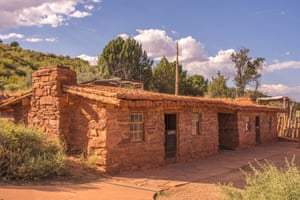 The East Cabin at Pipe Spring national monument.