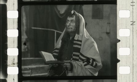 A frame from The City Without Jews