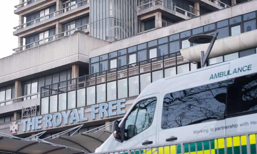 Google has been given access to the details of up to 1.6m patients from the Royal Free Hospital Trust.
