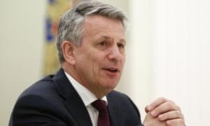CEO of Royal Dutch Shell Ben van Beurden