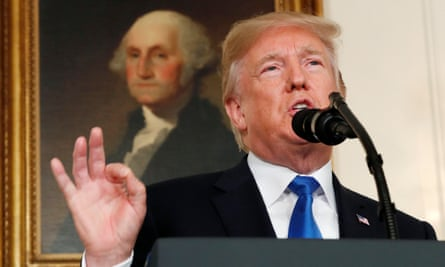 President Trump speaks about Iran