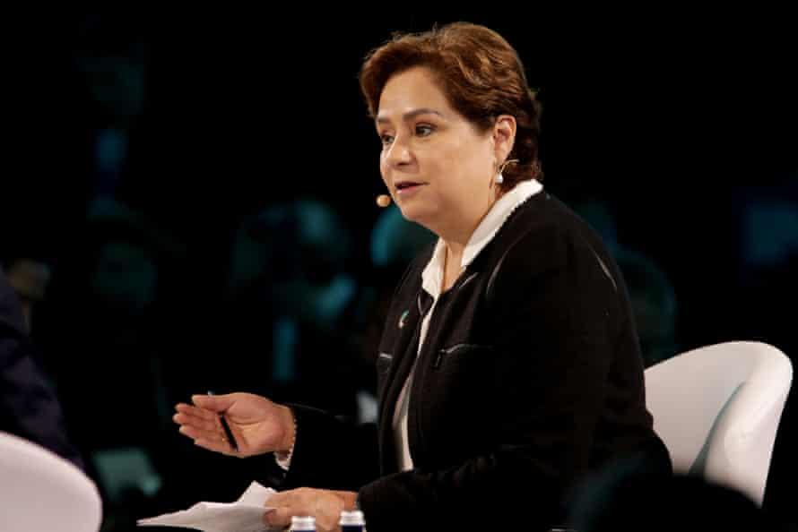 UN climate change head, Patricia Espinosa
