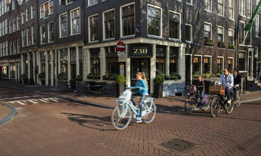 In the Netherlands 27% of all trips are already made by bike.