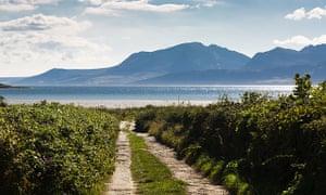St Ninians bay Rothesay Bute