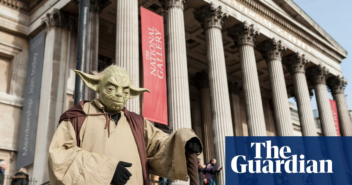 74ee29fb0 Floating Yodas aren't art, but don't kick them to the kerb, National Gallery