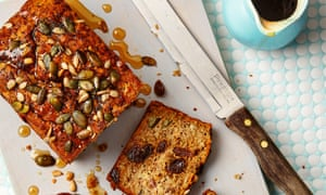 Thomasina Miers' maple, oat and banana loaves