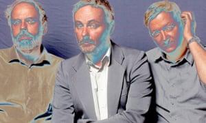 Cavern of Anti-Matter Holger Zapf, Tim Gane and Joe Dilworth (L-R) of band Cavern of Anti-Matter