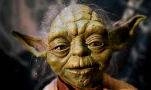 Look familiar? Yoda at the Star Wars Identities exhibition.