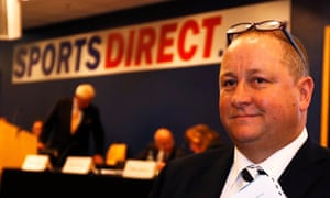Mike Ashley, founder and CEO of Sports Direct.