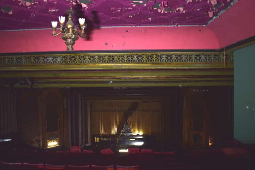 The main auditorium of the Granada cinema building