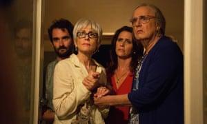 Jay Duplass, Judith Light, Amy Landecker and Jeffrey Tambor in Transparent