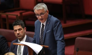 Queensland LNP senator Gerard Rennick in his first speech in the Senate says international students compete with Australians for work.