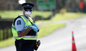 Auckland police have set up checkpoints following the discovery of four new coronavirus cases after more than 100 days without local transmission in New Zealand.