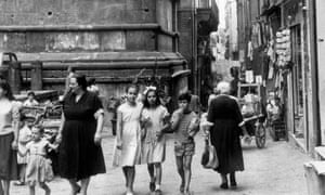 Naples in the early 1960s.