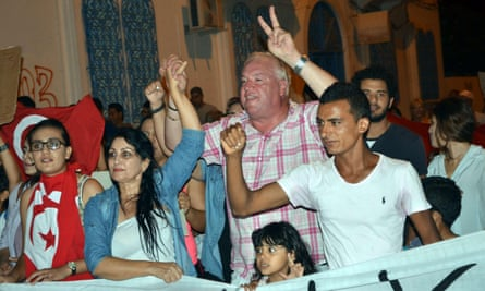 Demonstration in solidarity with Tunisian tourism on Djerba