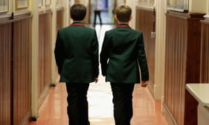 A report in the Times claimed grammar schools were going to lower entry test marks for poorer children.