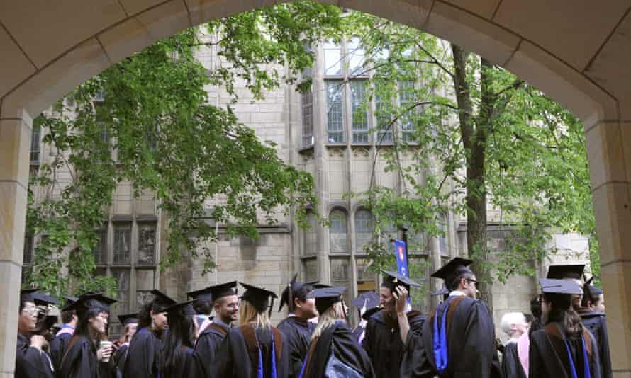 The Biden justice department says it is dismissing a discrimination lawsuit against Yale University.
