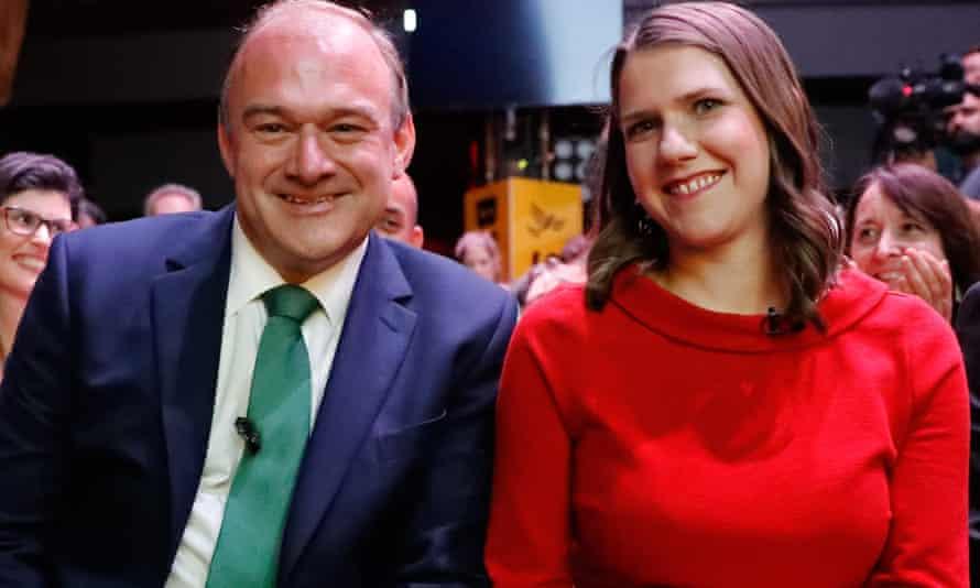 Ed Davey with Jo Swinson