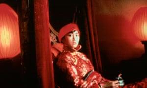 Gong Li in Raise the Red Lantern