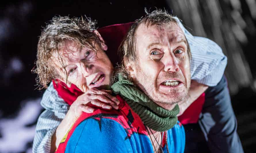 To play the king: as Lear at the Old Vic with Rhys Ifans as Fool and directed by Deborah Warner.