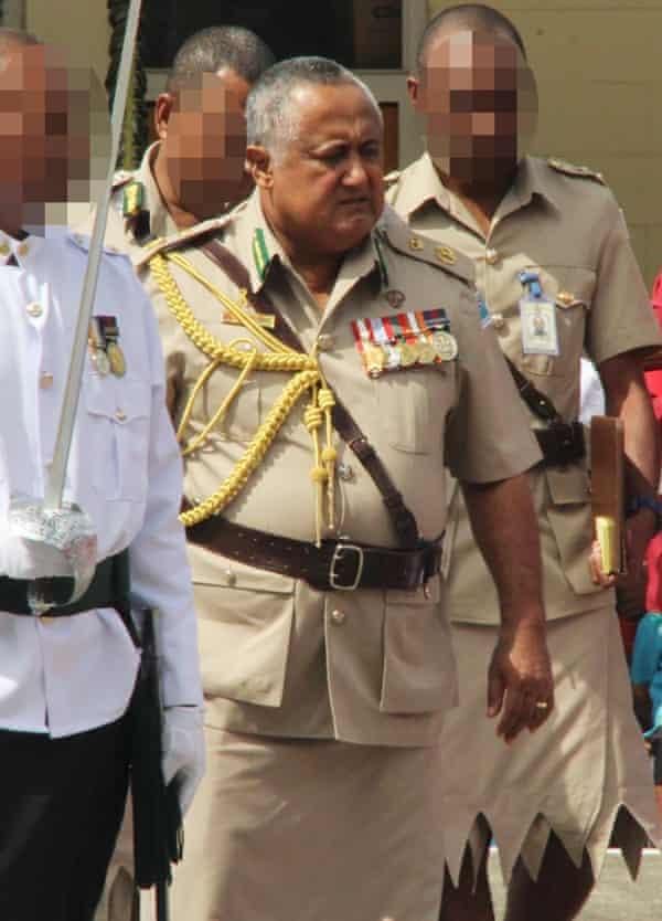 Fiji Corrections Commissioner Commander Francis Kean.