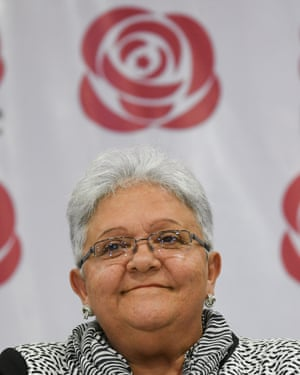 Imelda Daza is to be Timochenko's running mate.