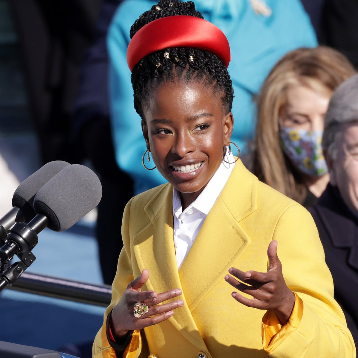Amanda Gorman signs modeling contract after star turn at inauguration | US  news | The Guardian