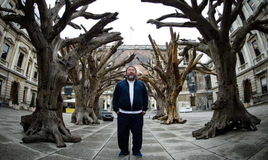 Ai Weiwei at the Royal Academy in September 2015.