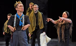 'I consider myself to be quite an adept manipulator' … Mat Fraser as Richard III.