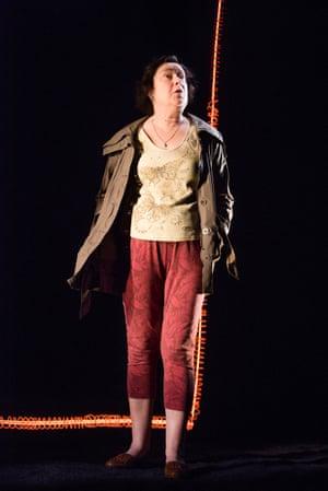 Linda Bassett in Cassandra mode.