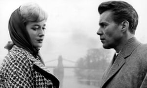 Sylvia Syms and Dirk Bogarde in the 1961 film Victim.