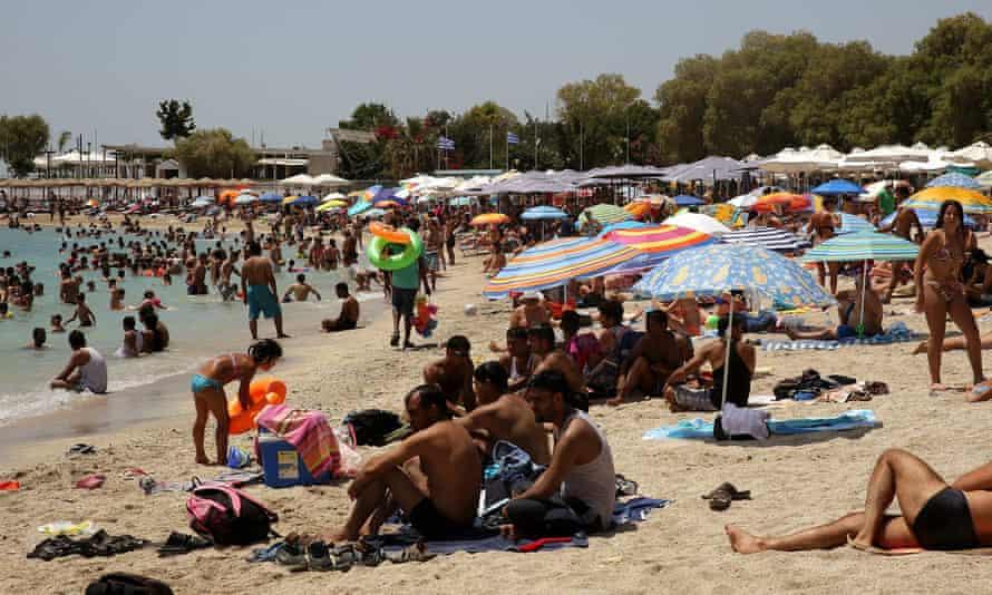 A beach near Athens