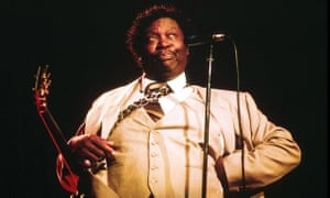 'Actions speak louder than words' … BB King in 1984.