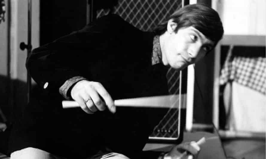 Charlie Watts does his thing on the Ready Steady Go!  show in London in 1964.