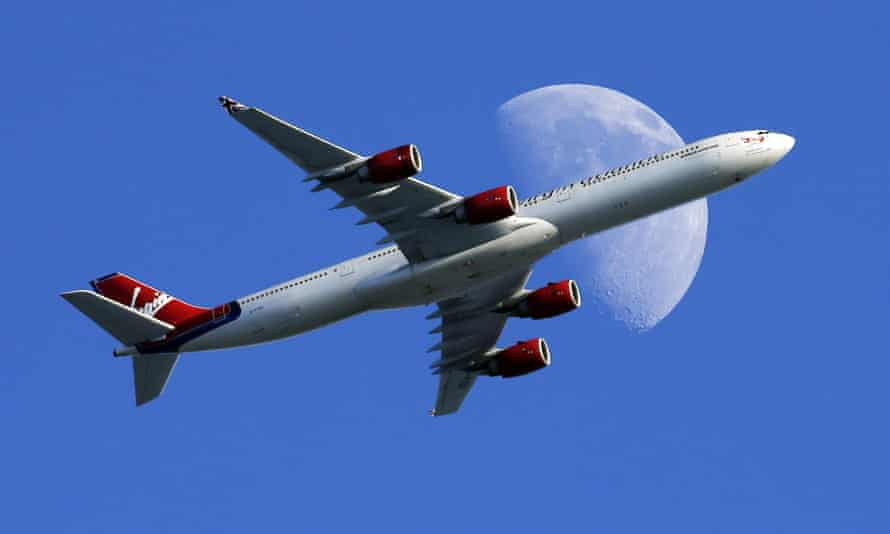 Virgin Atlantic passenger plane