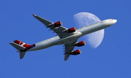 Virgin Atlantic passenger plane