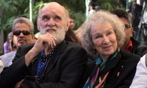 Graeme Gibson and Margaret Atwood.