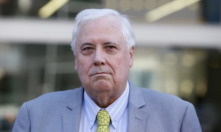 Clive Palmer at the supreme court in Brisbane last year.