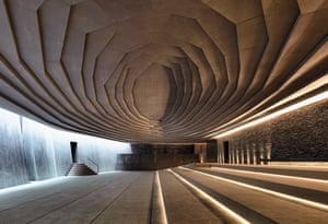 Sancaklar Mosque, Büyükçekmece, Turkey, 2012, Emre Arolat Architects
