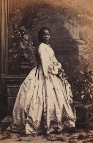 Several portraits of Sarah Forbes Bonetta feature in the show.