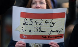 ( Campaigners brave cold to protest at stations over fare increases )