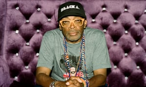 Spike Lee photographed in his production offices in Brooklyn, New York City