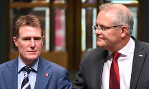 Christian Porter, and the prime minister,  Scott Morrison